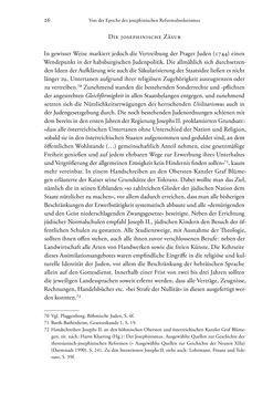 Bild der Seite - 26 - in Heimatrecht und Staatsbürgerschaft österreichischer Juden - Vom Ende des 18. Jahrhunderts bis in die Gegenwart