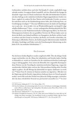 Bild der Seite - 40 - in Heimatrecht und Staatsbürgerschaft österreichischer Juden - Vom Ende des 18. Jahrhunderts bis in die Gegenwart