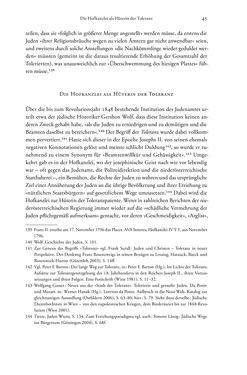Bild der Seite - 45 - in Heimatrecht und Staatsbürgerschaft österreichischer Juden - Vom Ende des 18. Jahrhunderts bis in die Gegenwart