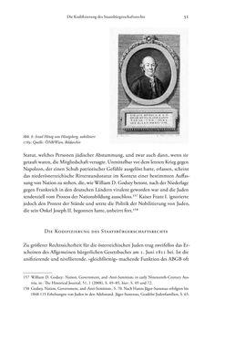 Bild der Seite - 51 - in Heimatrecht und Staatsbürgerschaft österreichischer Juden - Vom Ende des 18. Jahrhunderts bis in die Gegenwart