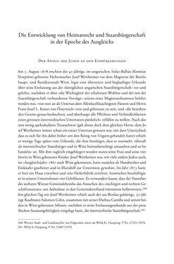 Bild der Seite - 77 - in Heimatrecht und Staatsbürgerschaft österreichischer Juden - Vom Ende des 18. Jahrhunderts bis in die Gegenwart