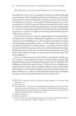 Bild der Seite - 80 - in Heimatrecht und Staatsbürgerschaft österreichischer Juden - Vom Ende des 18. Jahrhunderts bis in die Gegenwart