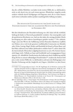Bild der Seite - 82 - in Heimatrecht und Staatsbürgerschaft österreichischer Juden - Vom Ende des 18. Jahrhunderts bis in die Gegenwart