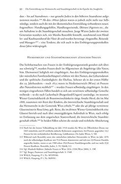 Bild der Seite - 90 - in Heimatrecht und Staatsbürgerschaft österreichischer Juden - Vom Ende des 18. Jahrhunderts bis in die Gegenwart