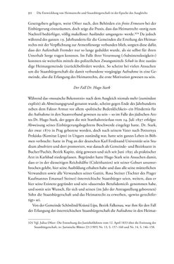 Bild der Seite - 92 - in Heimatrecht und Staatsbürgerschaft österreichischer Juden - Vom Ende des 18. Jahrhunderts bis in die Gegenwart