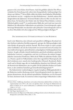 Bild der Seite - 115 - in Heimatrecht und Staatsbürgerschaft österreichischer Juden - Vom Ende des 18. Jahrhunderts bis in die Gegenwart