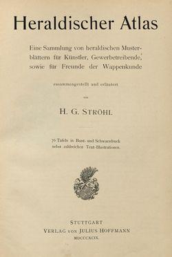 Bild der Seite - (00000003) - in Heraldischer Atlas - Eine Sammlung von heraldischen Musterblättern für Künstler, Gewerbetreibende, sowie für Freunde der Wappenkunde