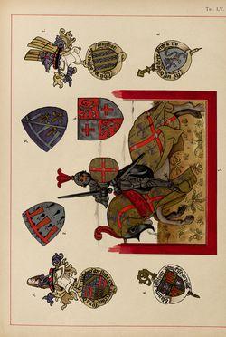 Bild der Seite - (00000205) - in Heraldischer Atlas - Eine Sammlung von heraldischen Musterblättern für Künstler, Gewerbetreibende, sowie für Freunde der Wappenkunde