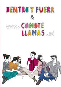 Bild der Seite - Einband vorne - in Dentro y Fuera & www.cómotellamas.tú