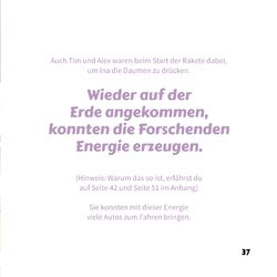 Image of the Page - 37 - in Ina erforscht den Weltraum