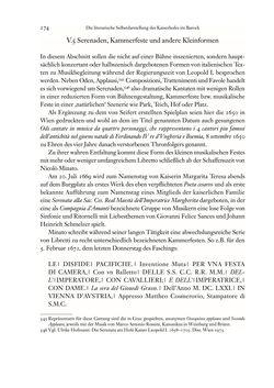 Image of the Page - 274 - in Die italienische Literatur in Österreich - Von den Anfängen bis 1797, Volume I