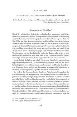 Image of the Page - 198 - in Josephinische Mandarine - Bürokratie und Beamte in Österreich