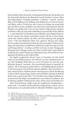 Bild der Seite - 255 - in Josephinische Mandarine - Bürokratie und Beamte in Österreich