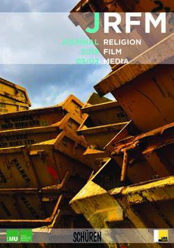 Bild der Seite - (000001) - in JRFM - Journal Religion Film Media, Band 05/02