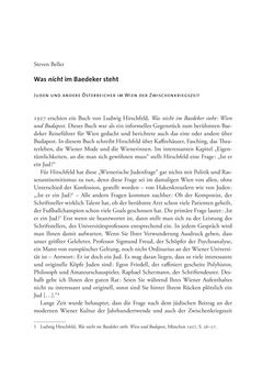 Bild der Seite - 1 - in Wien und die jüdische Erfahrung 1900-1938 - Akkulturation - Antisemitismus - Zionismus