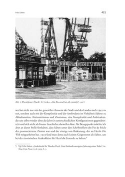 Bild der Seite - 421 - in Wien und die jüdische Erfahrung 1900-1938 - Akkulturation - Antisemitismus - Zionismus
