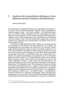 Image of the Page - 61 - in Wirkungsevaluation mobiler Jugendarbeit - Methodische Zugänge und empirische Ergebnisse