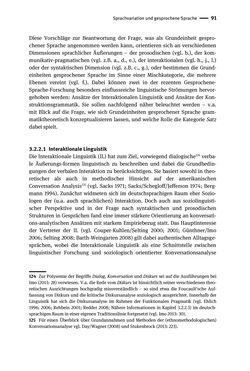 Bild der Seite - 91 - in Jugendkommunikation und Dialekt - Syntax gesprochener Sprache bei Jugendlichen in Osttirol