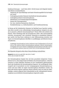 Bild der Seite - 126 - in Jugendkommunikation und Dialekt - Syntax gesprochener Sprache bei Jugendlichen in Osttirol