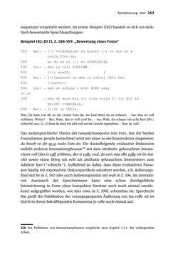 Bild der Seite - 263 - in Jugendkommunikation und Dialekt - Syntax gesprochener Sprache bei Jugendlichen in Osttirol