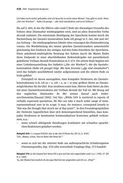 Bild der Seite - 426 - in Jugendkommunikation und Dialekt - Syntax gesprochener Sprache bei Jugendlichen in Osttirol