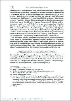 Bild der Seite - 114 - in Die Kirche und die »Kärntner Seele« - Habitus, kulturelles Gedächtnis und katholische Kirche in Kärnten, insbesondere vor 1938