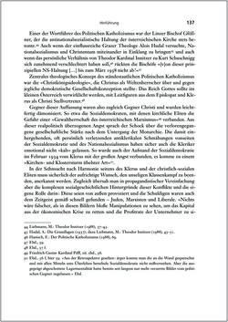Bild der Seite - 137 - in Die Kirche und die »Kärntner Seele« - Habitus, kulturelles Gedächtnis und katholische Kirche in Kärnten, insbesondere vor 1938