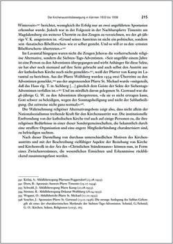 Bild der Seite - 215 - in Die Kirche und die »Kärntner Seele« - Habitus, kulturelles Gedächtnis und katholische Kirche in Kärnten, insbesondere vor 1938