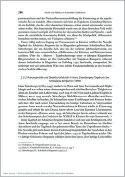 Bild der Seite - 286 - in Die Kirche und die »Kärntner Seele« - Habitus, kulturelles Gedächtnis und katholische Kirche in Kärnten, insbesondere vor 1938