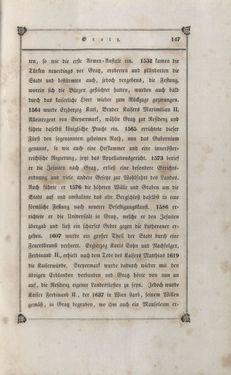 Bild der Seite - 147 - in Das Kaiserthum Österreich - in seinen merkwürdigen Städten, Badeorten, seinen Domen, Kirchen und sonstigen ausgezeichneten Baudenkmälern alter und neuer Zeit, historisch-topographisch dargestellt