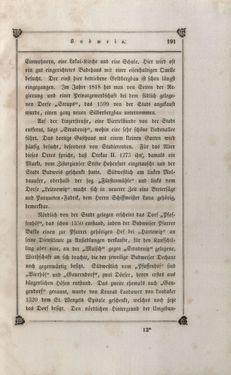 Bild der Seite - 191 - in Das Kaiserthum Österreich - in seinen merkwürdigen Städten, Badeorten, seinen Domen, Kirchen und sonstigen ausgezeichneten Baudenkmälern alter und neuer Zeit, historisch-topographisch dargestellt