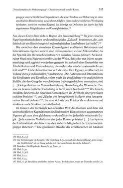 Bild der Seite - 315 - in Kakanien als Gesellschaftskonstruktion - Robert Musils Sozioanalyse des 20. Jahrhunderts