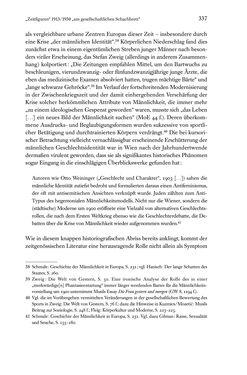 Bild der Seite - 337 - in Kakanien als Gesellschaftskonstruktion - Robert Musils Sozioanalyse des 20. Jahrhunderts
