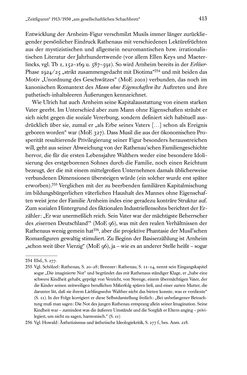 Bild der Seite - 413 - in Kakanien als Gesellschaftskonstruktion - Robert Musils Sozioanalyse des 20. Jahrhunderts