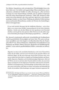 Image of the Page - 443 - in Kakanien als Gesellschaftskonstruktion - Robert Musils Sozioanalyse des 20. Jahrhunderts