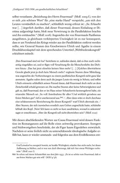 Bild der Seite - 631 - in Kakanien als Gesellschaftskonstruktion - Robert Musils Sozioanalyse des 20. Jahrhunderts