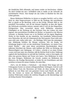 Bild der Seite - 33 - in Der Kampf mit dem Dämon - Hölderlin · Kleist · Nietzsche