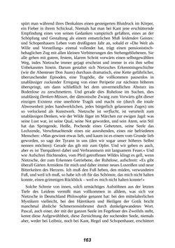 Bild der Seite - 163 - in Der Kampf mit dem Dämon - Hölderlin · Kleist · Nietzsche