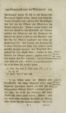 Bild der Seite - 249 - in Staat- und Kirchengeschichte des Herzogthum Steyermarks, Band 1 & 2