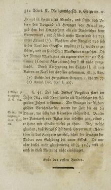 Bild der Seite - 312 - in Staat- und Kirchengeschichte des Herzogthum Steyermarks, Band 1 & 2
