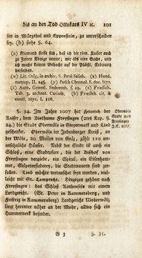 Bild der Seite - 101 - in Staat- und Kirchengeschichte des Herzogthum Steyermarks, Band 3