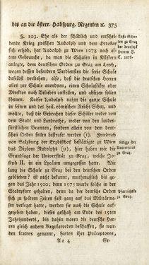 Image of the Page - 375 - in Staat- und Kirchengeschichte des Herzogthum Steyermarks, Volume 4
