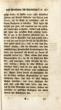 Bild der Seite - 281 - in Staat- und Kirchengeschichte des Herzogthum Steyermarks, Band 6