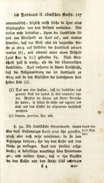 Bild der Seite - 167 - in Staat- und Kirchengeschichte des Herzogthum Steyermarks, Band 7