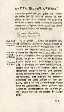 Bild der Seite - 230 - in Staat- und Kirchengeschichte des Herzogthum Steyermarks, Band 7