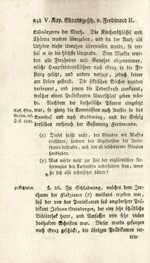 Image of the Page - 248 - in Staat- und Kirchengeschichte des Herzogthum Steyermarks, Volume 7