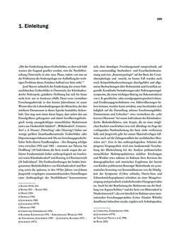 Image of the Page - 299 - in Das linearbandkeramische Gräberfeld von Kleinhadersdorf