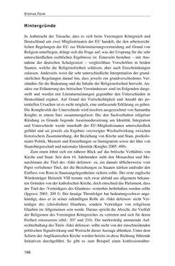 Bild der Seite - 166 - in Der Stoff, aus dem Konflikte sind - Debatten um das Kopftuch in Deutschland, Österreich und der Schweiz
