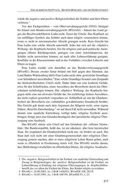 Bild der Seite - 317 - in Der Stoff, aus dem Konflikte sind - Debatten um das Kopftuch in Deutschland, Österreich und der Schweiz