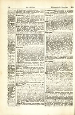 Image of the Page - 160 - in Pierers Konversations-Lexikon - A-Aufstehen, Volume 1